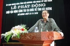 Lễ Phát động Cuộc vận động Sáng tác ca khúc về tỉnh Hải Dương