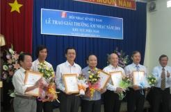Lễ trao giải thưởng Âm nhạc 2010-HNSVN