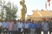Đoàn Nhạc sĩ đi thực tế về Các Địa chỉ Đỏ Miền Đông Nam Bộ