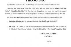 ỦNG HỘ CÁC NHẠC SĨ LÃO THÀNH, KHÓ KHĂN