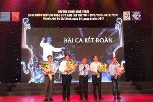 """""""BÀI CA KẾT ĐOÀN"""" CHÀO MỪNG NGÀY ÂM NHẠC VIỆT NAM LẦN THỨ VIII – 2017."""